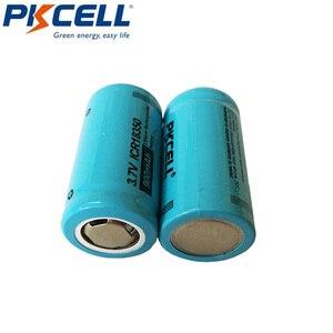Image 4 - 2 szt. PKCELL ICR 18350 akumulator litowo jonowy 3.7V 900mAh akumulatory litowo jonowe Bateria Baterias