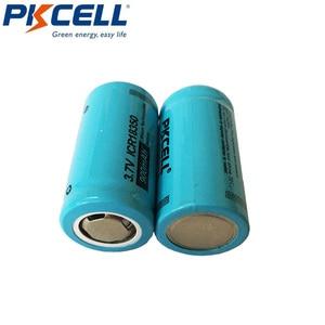 Image 4 - 2PCS PKCELL ICR 18350 Lithium ion Battery 3.7V 900mAh Rechargeable Li ion Batteries Bateria Baterias