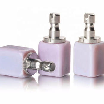 5 pieces dental glass ceramic lithium disilicate blocks size B40