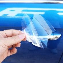 Film de Protection de poignée de voiture, autocollant Transparent pour l'extérieur de la voiture, pour LADA dora Sedan sport Kalina Granta Vesta x-ray XRay, 5 pièces/ensemble