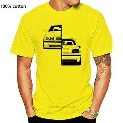 Men T Shirt Cotton Men Short Sleeve T-shirt M3 Motorsport Evolution E30 E36 E46 E90 2002 Tee shirts