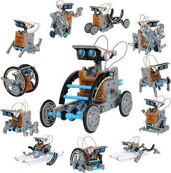 Mindblown STEM-Robot Solar 12 en 1 para niños, creación, Kit de 190...