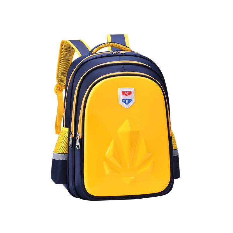 YK-Leik School Bags Boys Backpack Children Schoolbags For Teenagers Kids Cartoon Comfortable Back Orthopedics School Backpacks