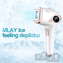 MLAY ICE feeling depilator T4 laser hair removal machine 500000 Flashes professional permanent IPL