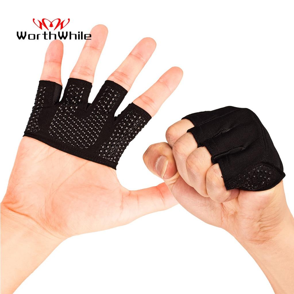 Gants de Fitness demi-doigt pour hommes et femmes, pour Crossfit, musculation, musculation 1