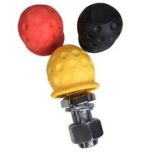 Universal 50mm Tow Bar Ball Cover Cap Towing Hitch Caravan Trailer Towball Protect For Car Truck RV Camper ATV 3 Colors