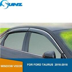 سيارة نافذة منحرف قناع لفورد توروس 2016 2017 2018 Winodow قناع تنفيس ظلال الشمس المطر عاكس الحرس SUNZ