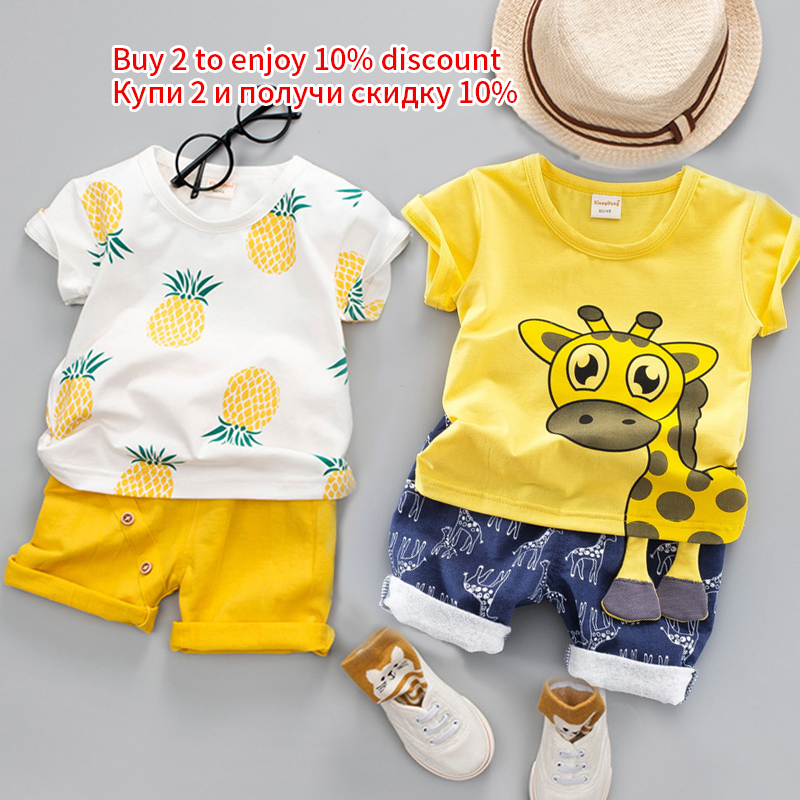 Super Sale #8340 2020 Fashion Infant Suits Baby Clothing