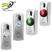 Exit-Button Access-Control-System-Accessories Door-Mushroom Home-Switch-Panel Metal
