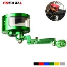 цена на Universal Motorcycle Brake Clutch Tank Cylinder Fluid Oil Reservoir Cup For Kawasaki ZX6R ZX636R ZX6RR 2000 2001 2002 2003 2004