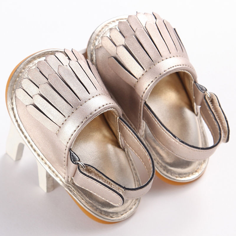 0-18M Newborn Baby Infant Summer Sandals Toddler Fashion Tassel Kids Boys Girls Soft Sole Crib Little Kid Children Sandals Shoes