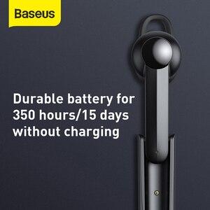 Image 4 - Baseus 5.0 fone de ouvido sem fio de carregamento magnético bluetooth fone com microfone handsfree fone condução fones para o telefone