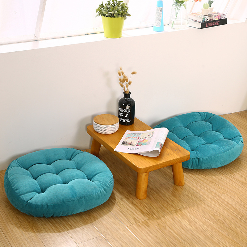 Round Square Floor Cushion Soft Cotton Core Cotton Tatami Cushion Pillow Yoga Meditation Car Soft Sofa Cushion Home Decoration