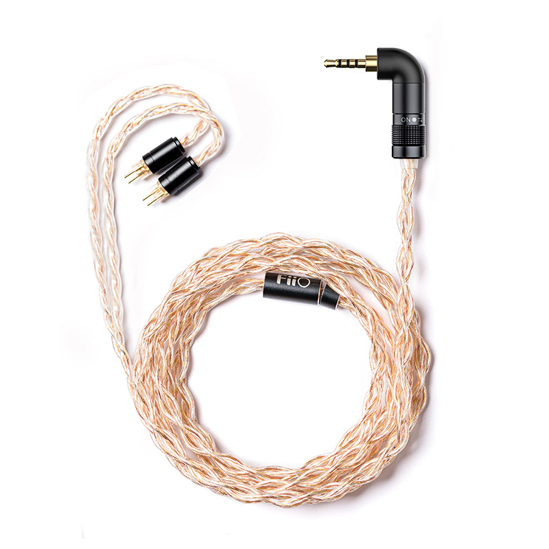 Image 5 - FiiO LC RE LC RE Tri Metallic Swappable plug headphone cable MMCX/0.78mm,Include 3plugs 3.5SE 2.5Balanced 4.4Balanced,for FH7Earphone Accessories   -