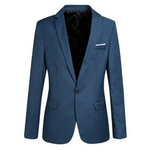 Wedding Dress Coat Men Slim Fit Social Blazer Jacket Spring Fashion Solid Mens Suit Jacket Casual Business Male Suit Coat 2019-in Blazers from Men's Clothing on AliExpress