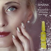 SENANA Face Serum Essence Hyaluronic Acid Nicotinamide Bright Whitening Ampoule Anti-Aging Acne Shrink Pores Hydration Skin Care