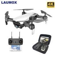 LAUMOX M69G FPV RC Drone 4K aparat optyczny przepływ Selfie Dron składany Wifi Quadcopter helikopter VS VISUO XS816 SG106 SG700 X12