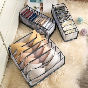 Underwear Bra Socks Panty Storage Boxes Cabinet Organizers Wardrobe Closet Home Organization Drawer Divider Dormitory Save Space