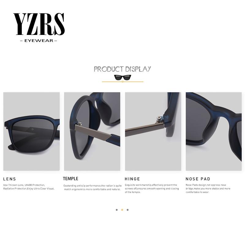 YZRS Brand Retro Designer Polarized Sunglasses Men 39 s Fashion Driving Sun Glasss UV Protection Women Shades For Summer in Men 39 s Sunglasses from Apparel Accessories