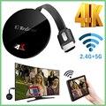 Беспроводная телевизионная Флешка для Airplay  для netflix  google chromecast  anycas 4K  программный ключ WiFi для Android  dvb  hdmi