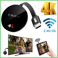 TV Stick for Airplay for netflix wireless for google chromecast display anycas 4K For Android WiFi Dongle for dvb for hdmi