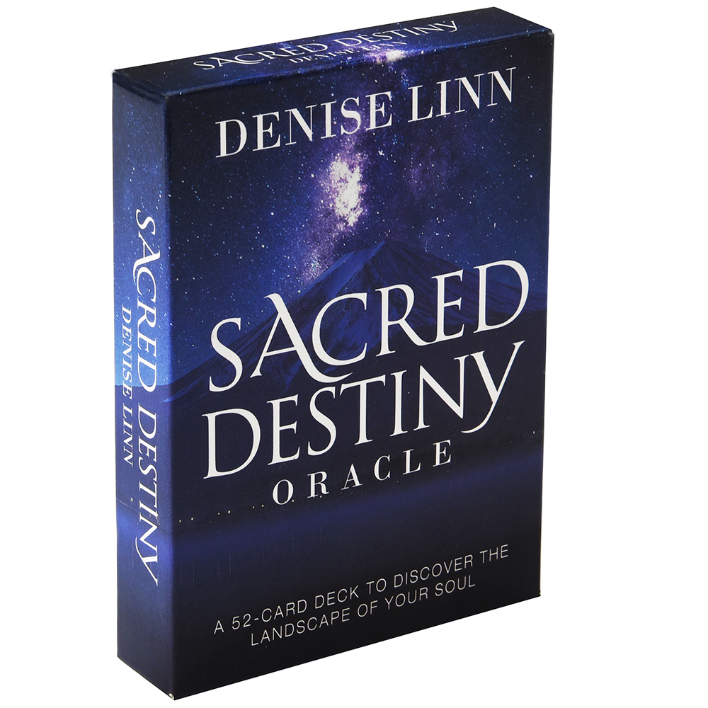 Sacred Destiny Oracle A 52-Card Deck To Discover The Landscape Of Your Soul Cards By Linn Board Game Moon Beginners Reading Love