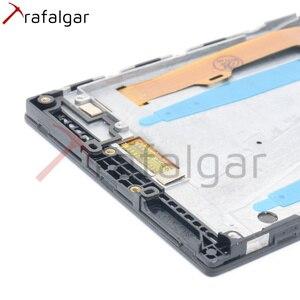 Image 4 - Trafalgar ЖК дисплей для Lenovo P70, сенсорный экран с дигитайзером для Lenovo P70, сенсорный экран с рамкой для Lenovo P70, сменный дисплей с рамкой, для P70 A