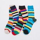 Striped Print Socks ...