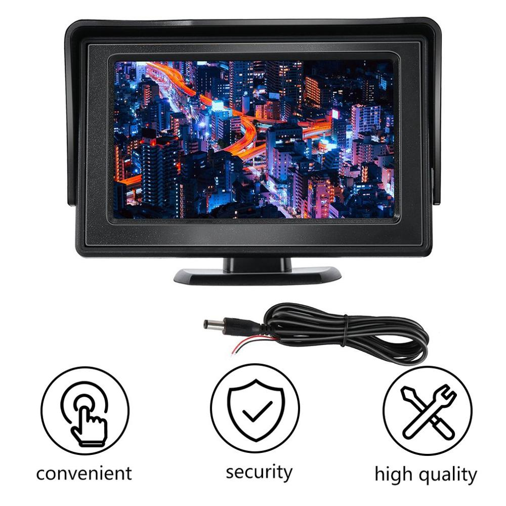 Car-Monitors Driving-Accessories Camera Rearview Reverse-Backup LCD for DVD GPS Vehicle title=