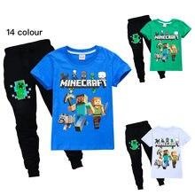 MINECRAFT D'anime Autour Vêtements Sweat-Shirts À Manches Longues Chemise De Noël Creeper Veste En Coton Enfants Garçons Filles Vêtements D'extérieur Automne