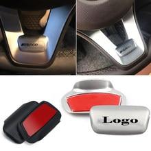 Para mercedes amg logotipo volante metal adesivo emblema do carro decoração decalque para benz gla cla glc gle w211 w212 w213 w203 w204 w205
