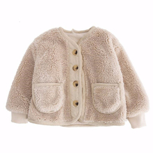 Высококачественная куртка для девочек; теплая плотная верхняя одежда для мальчиков; пальто; зимний бархатный кардиган для маленьких детей; Осенняя детская одежда