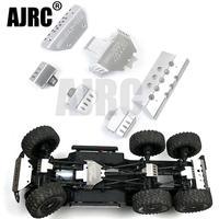 RC auto metall trx 6 G63 stoßstange Chassis Rüstung Schutz Skid Platte für Traxxass TRX 4 G500 88096 4 option upgrade-in Teile & Zubehör aus Spielzeug und Hobbys bei