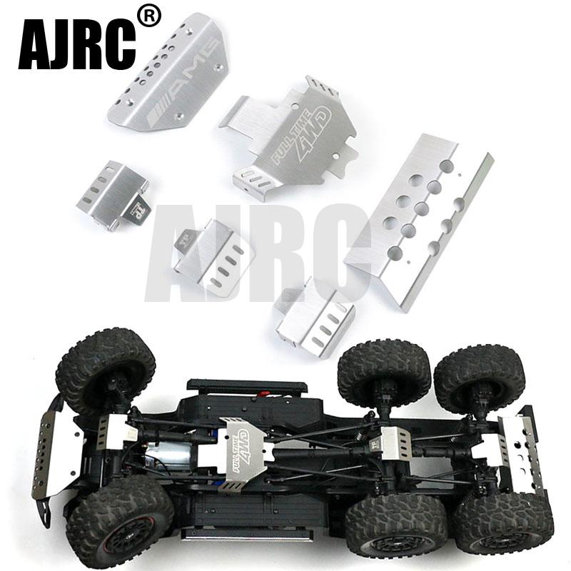 RC Car Metal Trx-6 G63 Bumper Chassis Armor Protection Skid Plate For Traxxass TRX-4 G500 88096-4 Option Upgrade