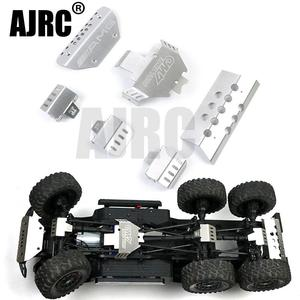Image 1 - RC רכב מתכת trx 6 G63 פגוש מארז שריון הגנת לוח החלקה עבור Traxxass TRX 4 G500 88096 4 אפשרות שדרוג