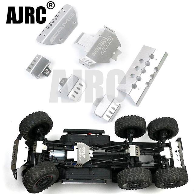 RC רכב מתכת trx 6 G63 פגוש מארז שריון הגנת לוח החלקה עבור Traxxass TRX 4 G500 88096 4 אפשרות שדרוג