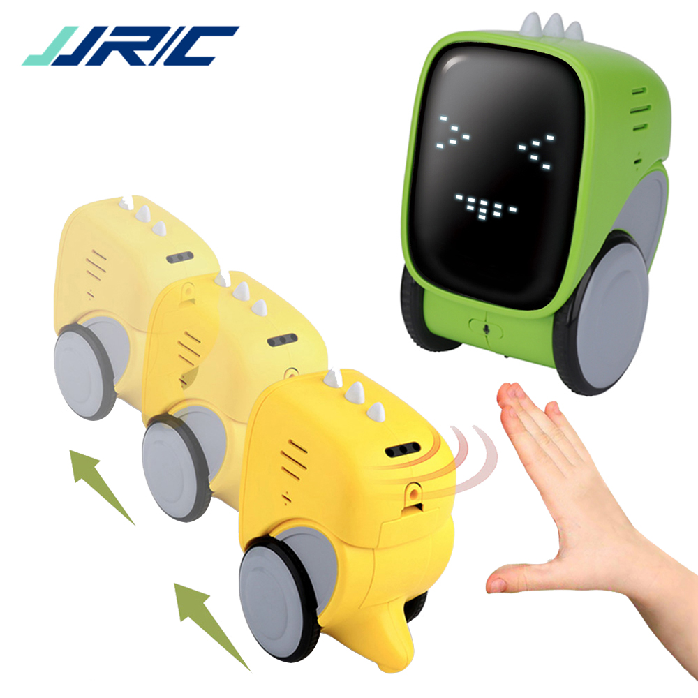 JJRC R16 RC Smart Robot Toy Gesture Voice Control Music Dance Expression Light Intelligent Remote Control Robot for Kids image