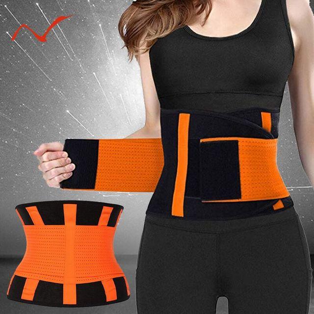 2019 New Adjustable Waist Support Belt Women And Men Waist Trimmer Belt Gym Train Waist Protector Fitness Belt