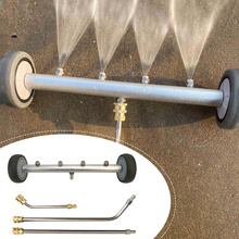Pressure Washer Undercarriage Cleaner 16 Inch Water Broom Power Washer Under Car Cleaning Kit with 3 Extension Wands