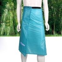 Protable 15D Silicone Coating Rain Gear Rainwear Long Rain Kilt Waterproof Skirt Pants Trousers Outdoor Hiking Camping Raincoat