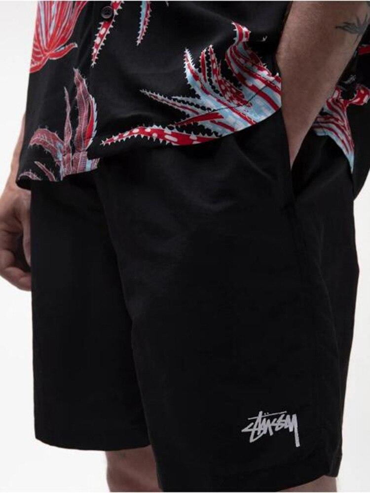 2021 новые летние одежда для спорта и отдыха Прохладный Пляжные шорты Для мужчин штаны для бега полиэстер Quick-Dryiang скейтборд тренажерные залы ...