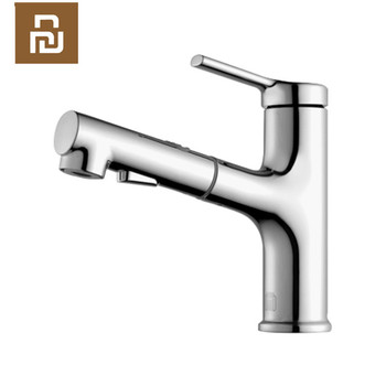 Original Youpin dabai Bathroom Basin Faucet With Pull Down Sprayer 2 Spray Mode Single Lever Handle Mixer Tap