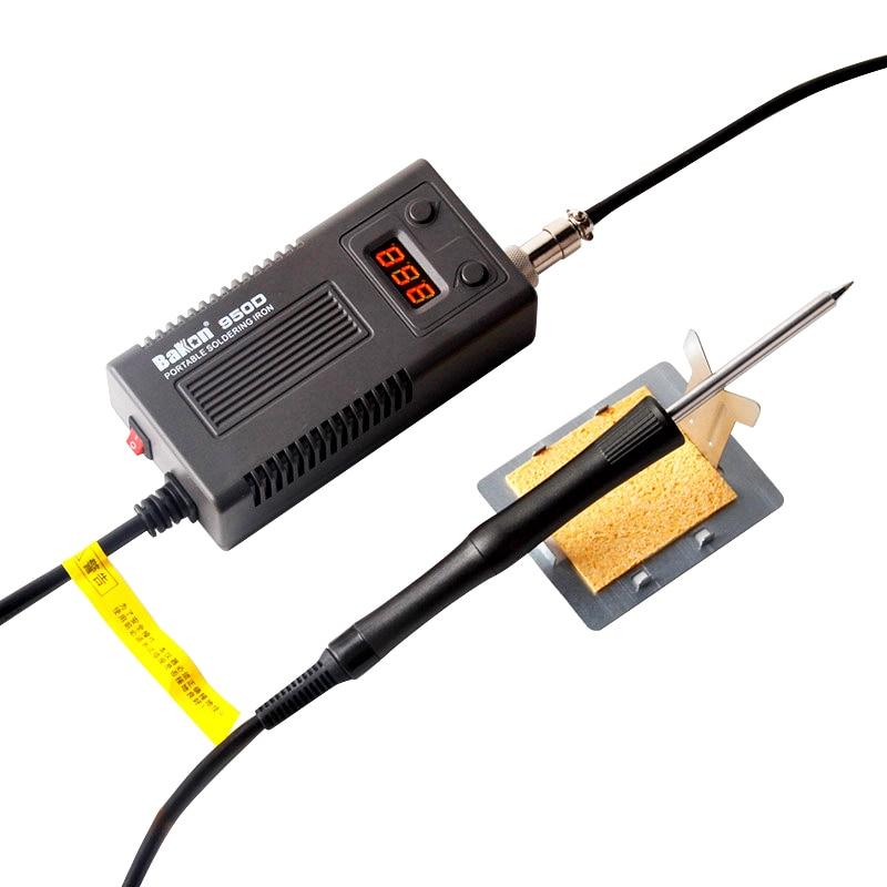 BAKON 950D 50W Portable Electric Soldering Iron T13 Tip Soldering Station Welding Repair Tool Temperature Adjustable Solder Iron