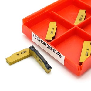 Image 2 - Канавочный инструмент N123G2 0300 0003 TF 4225 2 мм 3 мм 4 мм металлический токарный инструмент CNCmachine фрезерный инструмент из карбида вольфрама N123 G2 токарный инструмент
