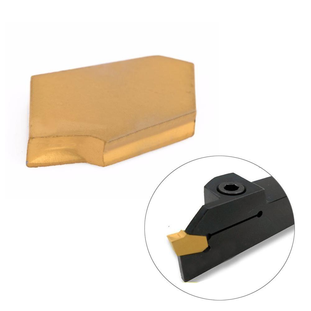 10pcs SP200 NC3020 GTN-2 Grooving Cut-Off Carbide Inserts 2mm Width For CNC Tool