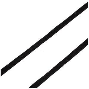 18 м замша кожа шнур ленты 2 мм черный DIY деко