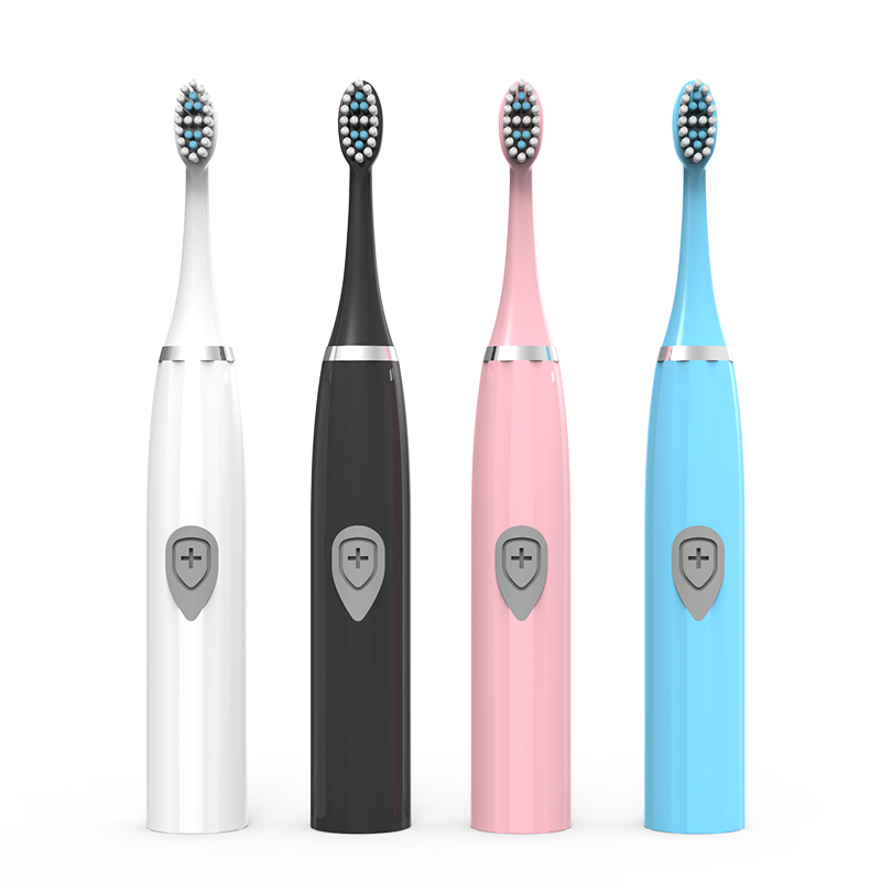 Dropshipping I7 Manufacturer Direct Sale New Adult Soft Hair Toothbrush Waterproof Gift  Roman Column Electric Toothbrush