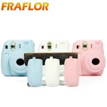 Fujifilm Instax מיני 8 סרט מצלמה סוללה כיסוי להחליף פלסטיק מצלמה כובע עבור Fuji Intant פיג י מיידי Mini8 מצלמת אבזרים