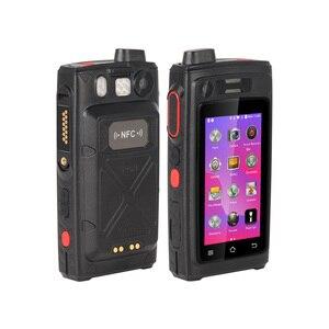 Image 3 - UNIWA A19S IP68 Walkie Talkie Radio 3GB 32GB 4800mAh 3 inch Touch Dual SIM 16MP Camera POC Zello Night Vision LED NFC SOS 4G LTE
