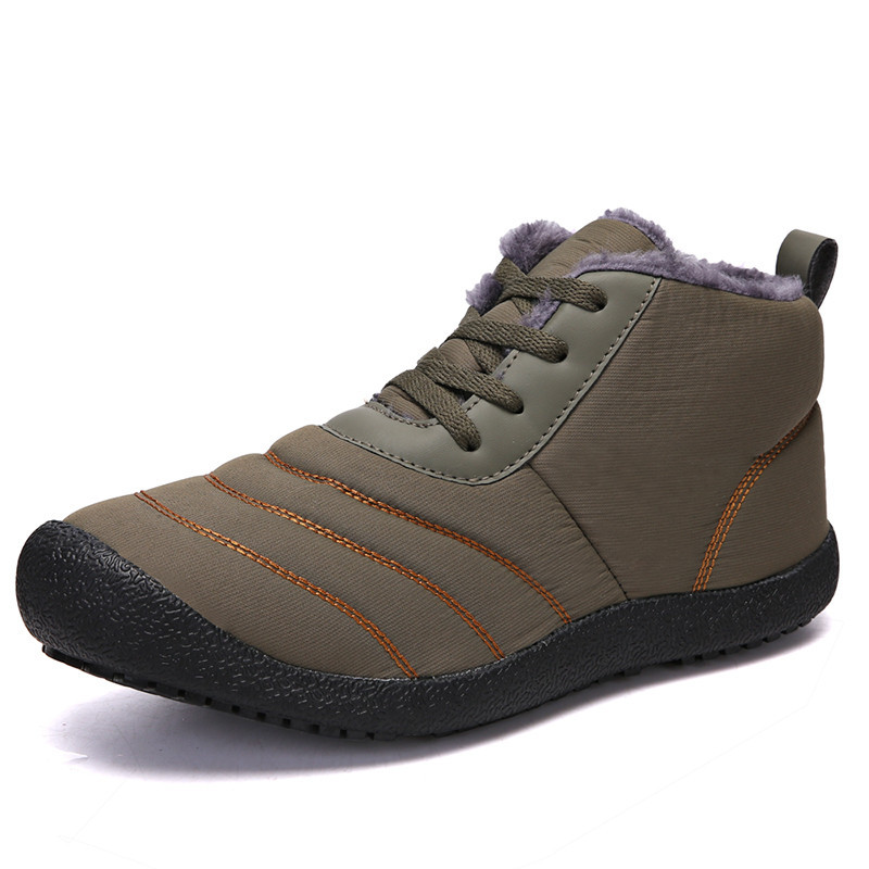 Mulher homem botas de inverno à prova dwaterproof água tênis sapatos casal neve antiderrapante inferior manter quente mãe casual salomones zapatillas sapatos